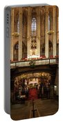 Barcelona Cathedral High Altar And St Eulalia Crypt Portable Battery Charger