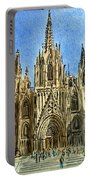 Barcelona Spain Portable Battery Charger