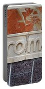 Barcelona Spain Metro Sign Portable Battery Charger