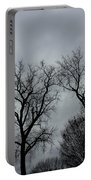 Bare, Raw, Cold Winter Day  Portable Battery Charger