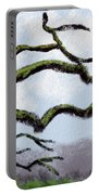 Bare Tree Branches Portable Battery Charger