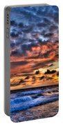 Barefoot Beach Sunset Portable Battery Charger