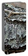 Bark - Lichen - Cat Brier Tendrils Portable Battery Charger