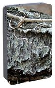 Bark - Lichen - Cat Brier Tendrils Portable Battery Charger