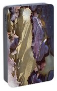 Bark Texture Portable Battery Charger