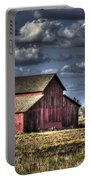 Barn After Storm Portable Battery Charger
