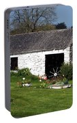 Barn At Fuerty Church Roscommon Ireland Portable Battery Charger