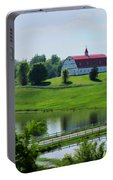 Barn Beautiful In Alabama Portable Battery Charger