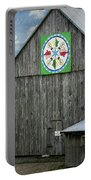 Barn Hex Sign Portable Battery Charger