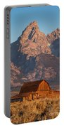 Barn In The Tetons One Portable Battery Charger