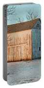 Barn Late Afternoon Portable Battery Charger