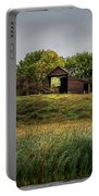 Barn On Hill Portable Battery Charger