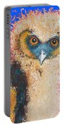 Barn Owl Painting Portable Battery Charger