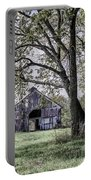 Barn Underneath The Tree Portable Battery Charger