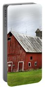 Barn With A Cross Portable Battery Charger