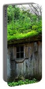 Barn With Green Roof Portable Battery Charger
