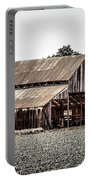 Barn With Outhouse Portable Battery Charger