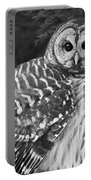 Barred Owl Beauty Portable Battery Charger