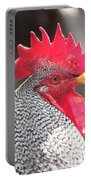 Barred Rock Rooster Portable Battery Charger