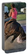 Barrel Racing Portable Battery Charger