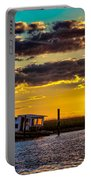 Barrier Island Sunset Portable Battery Charger