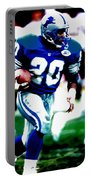 Barry Sanders On The Move Portable Battery Charger