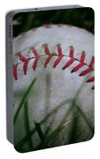 Baseball Portable Battery Charger by Diane Reed