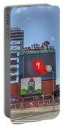 Baseball In Philadelphia - Citizens Bank Park Portable Battery Charger