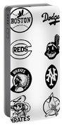 Baseball Logos Portable Battery Charger