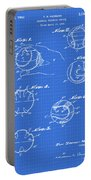 Baseball Training Device Patent 1961 Blueprint Portable Battery Charger