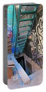 Basement Apartment In Graffiti Alley Portable Battery Charger