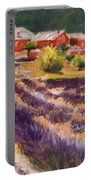 Lavender Smell Portable Battery Charger