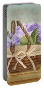 Basket Of Lilacs Portable Battery Charger