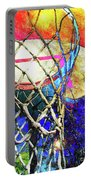 Basketball Artwork Version 179 Portable Battery Charger