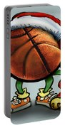 Basketball Christmas Portable Battery Charger
