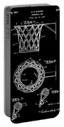 Basketball Net Patent 1951 In Black Portable Battery Charger