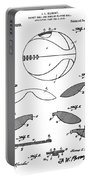 Basketball Patent 1916 Portable Battery Charger