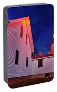 Bass Harbor Lighthouse Maine Portable Battery Charger