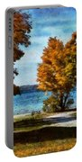 Bass Lake October Portable Battery Charger