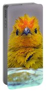 Bath Time Finch Portable Battery Charger