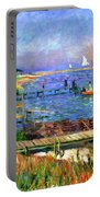 Bathers At Bellport Portable Battery Charger