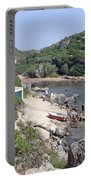 Bathers At Cales Coves Portable Battery Charger