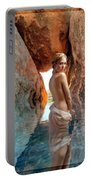 Bathing Maiden Portable Battery Charger
