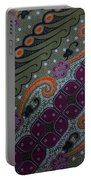 Batik Art Pattern Portable Battery Charger