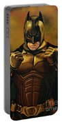 Batman The Dark Knight  Portable Battery Charger by Paul Meijering