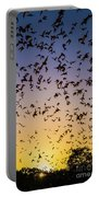 Bats At Bracken Cave Portable Battery Charger