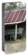 Battered Barn And Weathered Wagon Portable Battery Charger