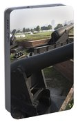 Battery Of Cannons At Fort Mchenry Portable Battery Charger