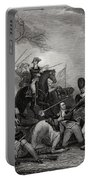 Battle At Princeton New Jersey Usa 1775 Portable Battery Charger