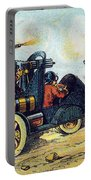Battle Cars, 1900s French Postcard Portable Battery Charger